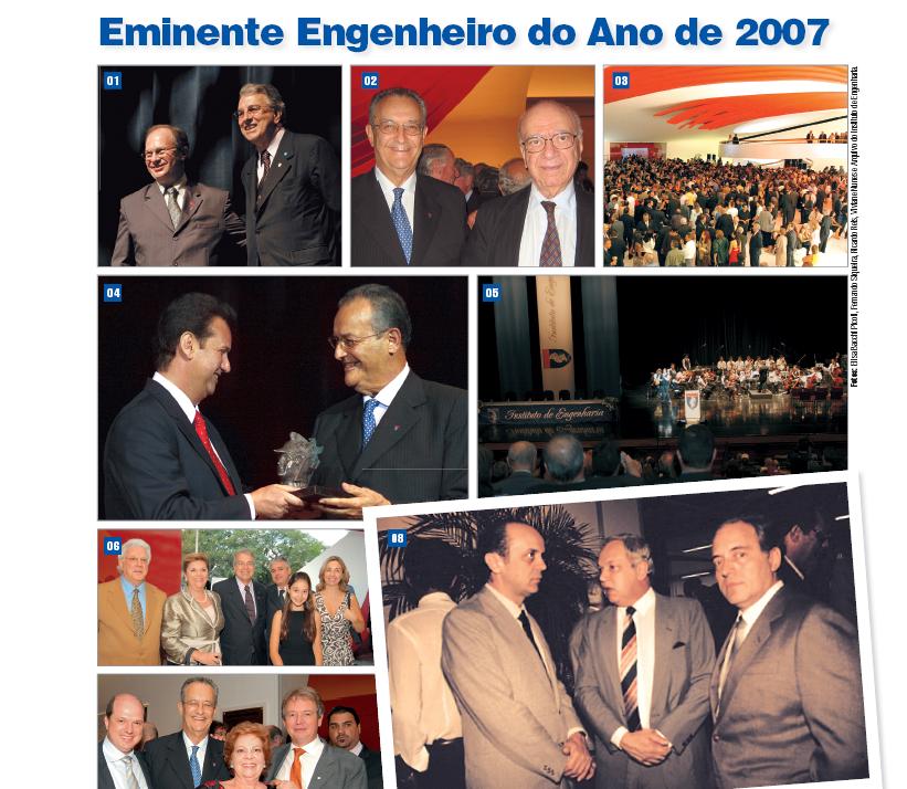 Prêmio Eminente Engenheiro do Ano de 2007 - Dezembro/2007