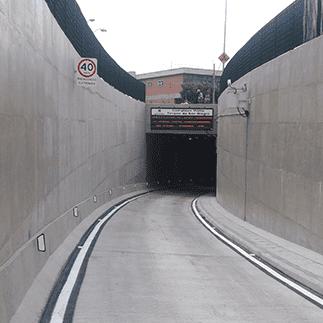 Sistema Viário sob Ferrovia em Mogi das Cruzes