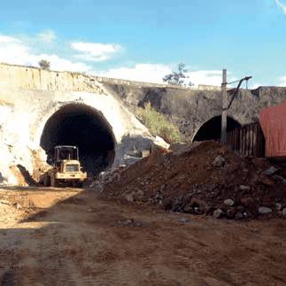 Túnel Ferroviário sob Rodovia Castelo Branco